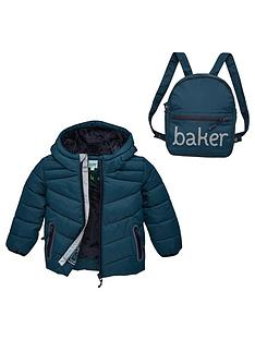 baker-by-ted-baker-toddler-boys-padded-coat-and-backpack-turquoise