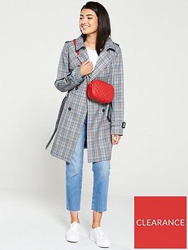 jack-wills-mitford-check-trench-coat-grey
