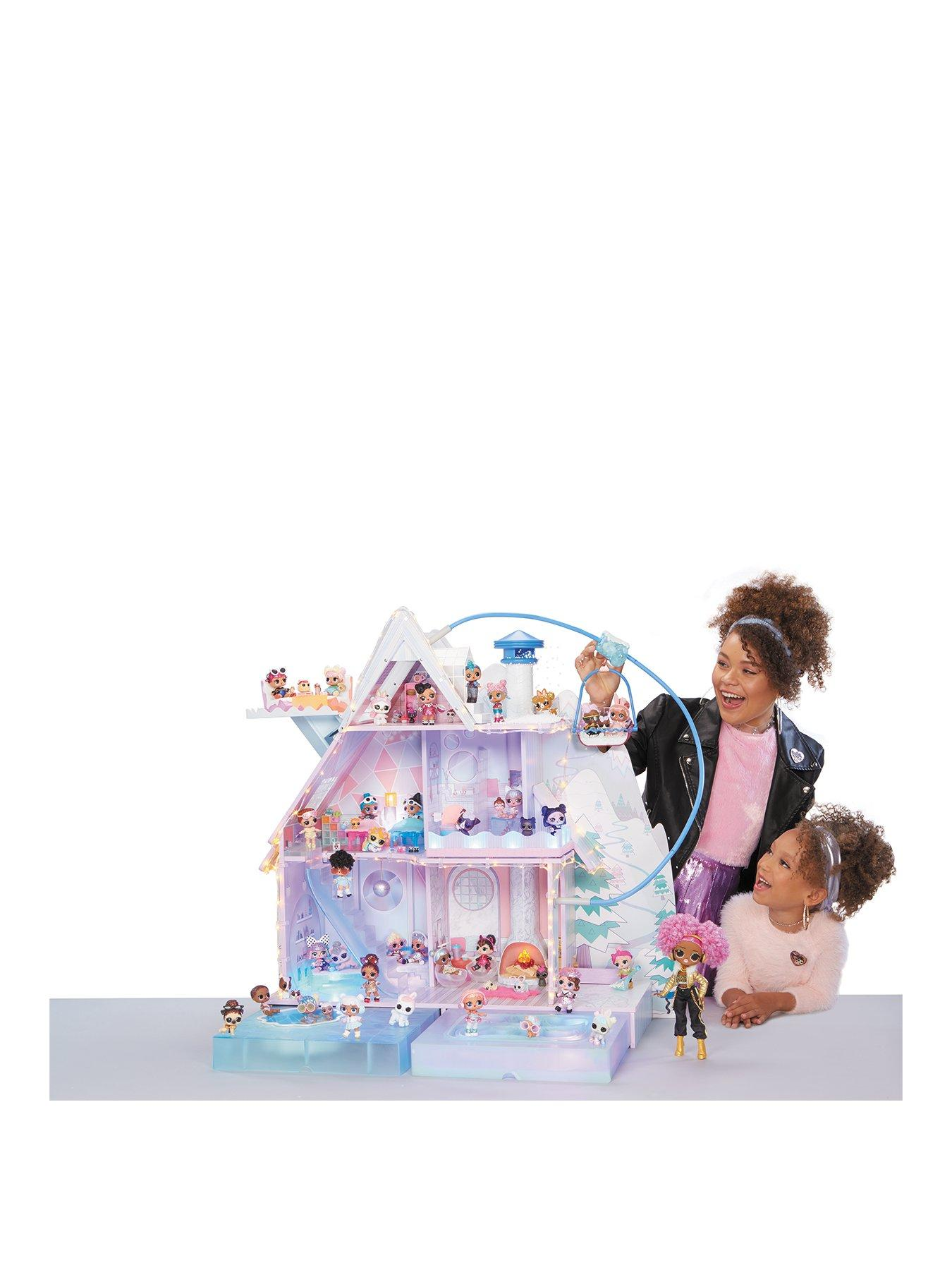 Miniature Dollhouse Ice Cream Cake Roll w// Unfolded Box