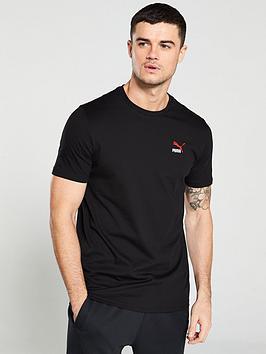 puma-classic-embroidered-logo-tee-black