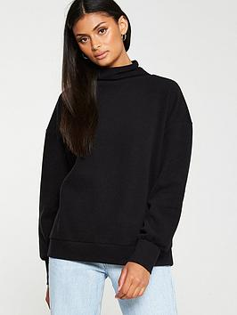 v-by-very-high-neck-soft-touch-jumper-black