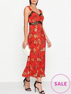 ukulele-gracie-floral-midi-dress-red