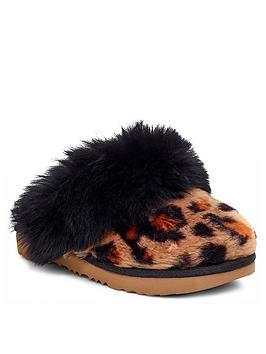ugg-girls-cozy-ll-leopard-slipper