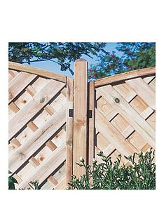 forest-ultima-fence-post-8ft-240-x-9-x-9cm-pack-of-6