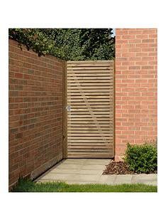 forest-double-slatted-gate-6ft-183m-high