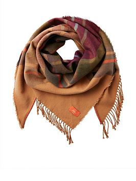 joules-wilstow-check-triangle-scarf
