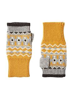 joules-swirlton-fingerless-fair-isle-gloves-yellownavy