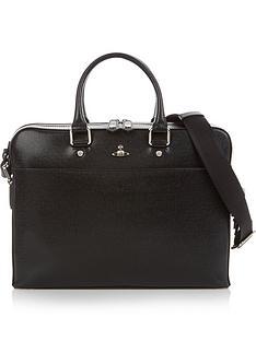vivienne-westwood-mens-kent-orb-logo-leather-briefcase-black