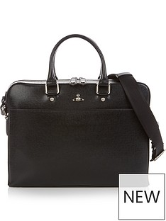 vivienne-westwood-mens-kent-orb-logo-leather-briefcase-black