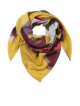 joules-atmore-printed-square-scarf-gold