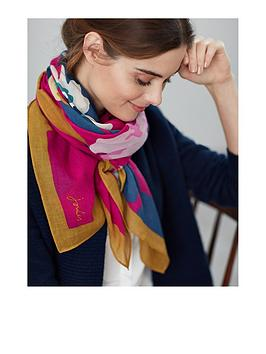 joules-atmore-30th-anniversary-floral-scarf-navy
