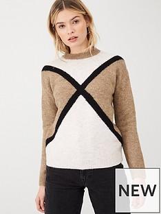 v-by-very-contrast-cross-front-jumper-oatmealnbsp