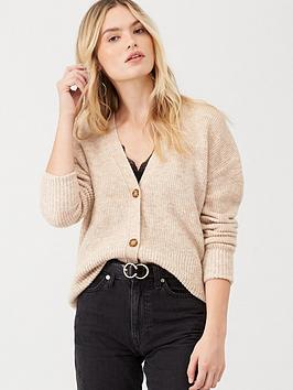 v-by-very-button-front-boxy-cardigan-oatmeal
