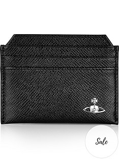 vivienne-westwood-mens-kent-textured-leather-credit-card-holder-black