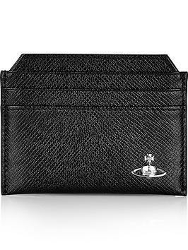 vivienne-westwood-mens-kent-textured-leather-credit-card-holder-black