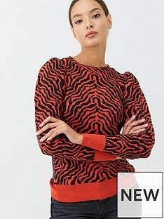 v-by-very-orange-zebra-jacquard-jumper-orange
