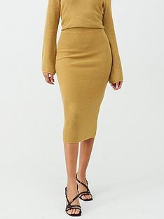v-by-very-lurex-skirt-gold
