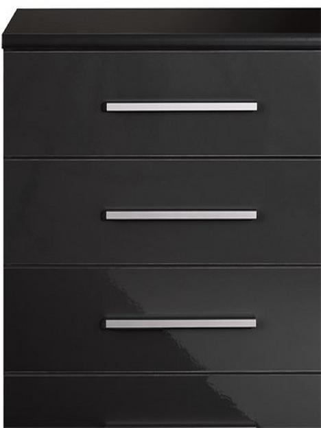 prague-gloss-5-drawer-chest