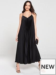 river-island-pleated-maxi-dress-black