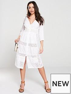 river-island-river-island-embroidered-midi-dress-white