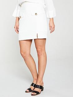 river-island-pocket-a-line-skirt-white