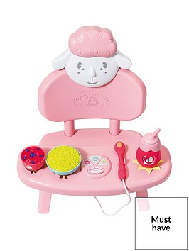 baby-annabell-lunch-time-table