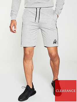 kings-will-dream-tarve-shorts-grey-marl
