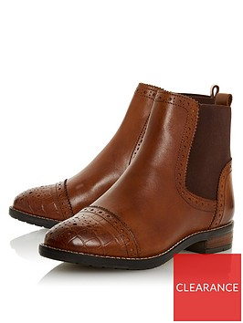 dune-london-wide-fit-queston-brogue-chelsea-ankle-boots-tan