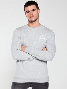 kings-will-dream-united-crew-sweater-grey-marl