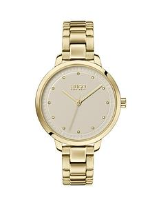 hugo-hugo-achieve-champagne-dial-gold-stainless-steel-bracelet-ladies-watch