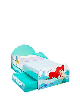 disney-princess-ariel-toddler-bed-with-storage-drawers-by-hellohome
