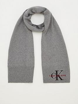 calvin-klein-jeans-knitted-scarf-grey-heather