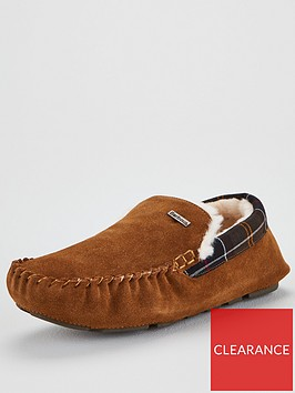 barbour-monty-slippers-brown