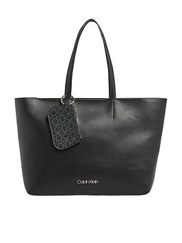 calvin-klein-f19-medium-shopper-black