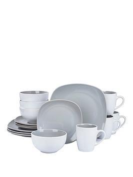 Product photograph showing Waterside Nova 16-piece Dinner Set