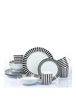 waterside-black-stripe-16-piece-dinner-set