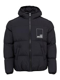love-moschino-box-logo-hooded-padded-jacket-black