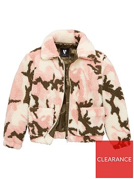 v-by-very-girls-camo-borg-jacket-pink