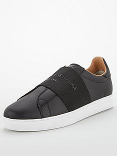 armani-exchange-logo-band-leather-trainers-black