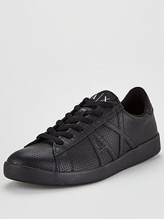 armani-exchange-armani-exchange-perforated-leather-trainers