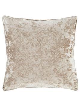 catherine-lansfield-crushed-velvet-cushion