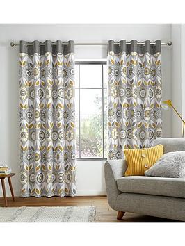 catherine-lansfield-annika-eyelet-curtains