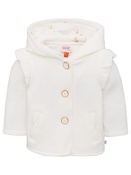 baker-by-ted-baker-baby-girls-frill-hooded-jacket-off-white