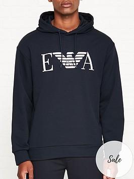 emporio-armani-eagle-logo-overhead-hoodienbsp--navy