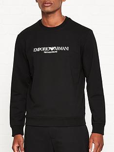 emporio-armani-logo-print-sweatshirt-black
