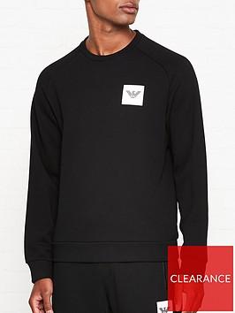 emporio-armani-rubber-eagle-logo-sweatshirt-blacknbsp