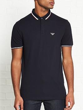 emporio-armani-tipped-collar-hidden-placket-polo-shirt-navy