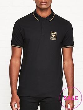 emporio-armani-logo-patch-polo-shirt-black