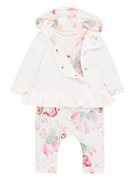 baker-by-ted-baker-baby-girls-3-piece-flamingo-print-outfit-off-white