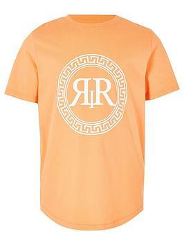 river-island-boys-ri-icon-print-t-shirt-orange